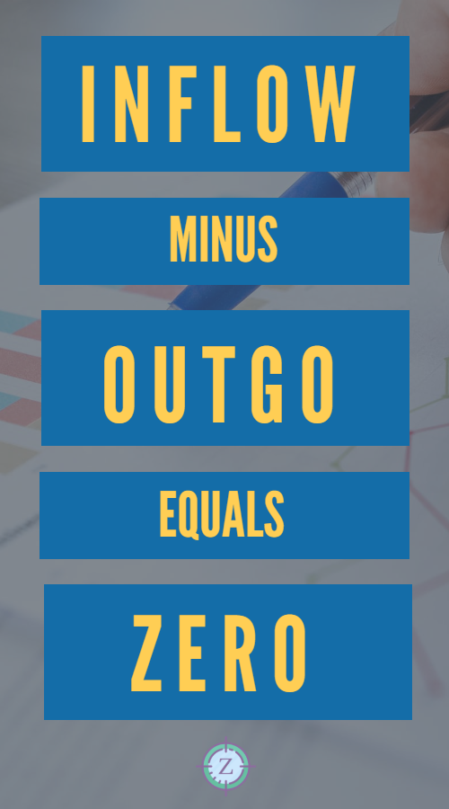 INFLOW minus OUTGO equals ZERO